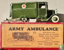 Army Ambulance 1st version, Motor type with driver,wounded man and stretcher