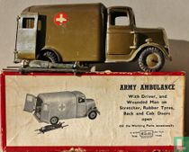 Army Ambulance 2nd version, Motor type with driver,wounded man and stretcher