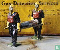 Air Raid Precautions Stretcher party squad and gas detector services