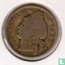 Dominicaanse Republiek 20 centavos 1897