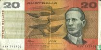 Australië 20 Dollars ND (1991)