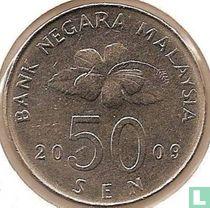 Maleisië 50 sen 2009