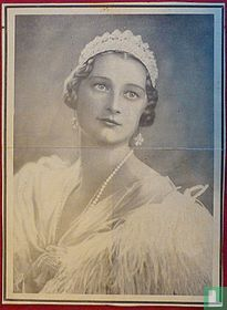 Rouwposter Koningin Astrid