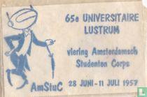 Viering Amsterdamsch Studenten Corps