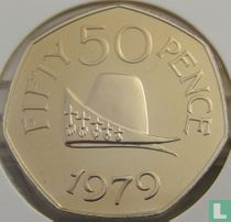 Guernsey 50 pence 1979 (PROOF)
