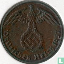 Duitse Rijk 1 reichspfennig 1937 (E)