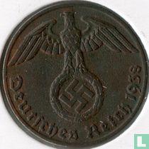 Duitse Rijk 1 reichspfennig 1938 (J)