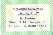 Sigarenmagazijn Mariëndaal - H.Beukers