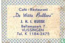 Café Restaurant De Witte ballons - J.H.I. Kusse