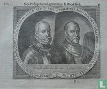 Philippus A Montmorency Comes Horn etc Architalass Maris Germ Inf, Amurathes Princeps Gaverus, comes Egmontanus, Flaud Arthes, Pref.