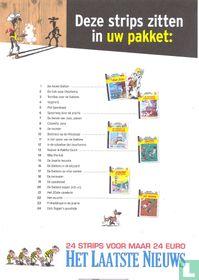 Infofolder + enveloppe Lucky Luke stripcollectie