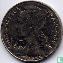 Réunion 100 francs 1964