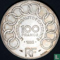 """Frankrijk 100 francs 1992 """"Jean Monnet"""""""