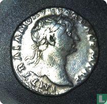 Romeinse rijk, AR Denarius, 98-117 AD, Trajanus, Rome, 105 AD
