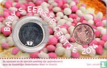"Netherlands 1 cent 2014 (coincard - girl) ""Baby's eerste centje"""