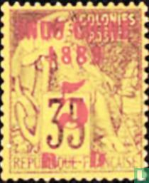 Type Dubois, with surcharge