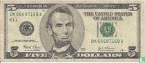 Verenigde Staten 5 dollars 2003 K