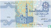 Egypte 25 Piastres, 1988