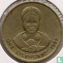 Swaziland 1 lilangeni 1986