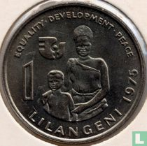 "Swaziland 1 lilangeni 1975 ""FAO - International Women's Year"""