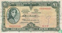 Ierland 1 Pound 1967
