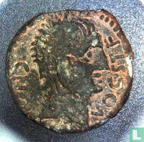 Romeinse Rijk, AE Semis, 1ste eeuw BC, Onbekend heerster, Castulo, Hispania