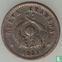 Colombia 1 décimo 1853