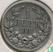 Bulgarije 1 lev 1891