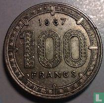 Equatoriaal-Afrikaanse Staten 100 francs 1967