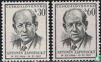Tod von Präsident Zápotocký