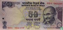 India 50 Rupees 2013 (L)