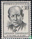 Tod von Präsident Zapotocky
