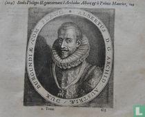 ALBERTUS D.G. ARCHID: AUSTRIAE / DUX BURGUNDIAE / COM: FLAND.
