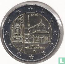 """Duitsland 2 euro 2013 (D) """"Baden - Württemberg"""""""