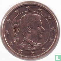 Belgium 5 cent 2014