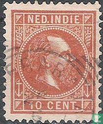 König Wilhelm III (12½: 12 große Löcher)
