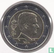 Belgium 2 euro 2014
