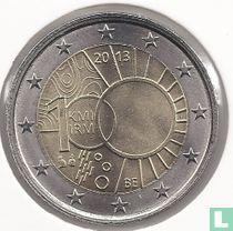"Belgium 2 euro 2013 ""100 years of Royal Meteorological Institute"""