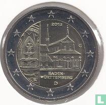 """Duitsland 2 euro 2013 (G) """"Baden - Württemberg"""""""