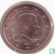 Belgium 2 cent 2014