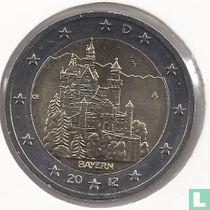 """Duitsland 2 euro 2012 (A) """"Neuschwanstein Castle - Bavaria"""""""