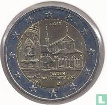 """Duitsland 2 euro 2013 (J) """"Baden - Württemberg"""""""