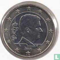 Belgium 1 euro 2014