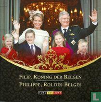 """Belgium mint set 2014 """"Filip Koning Der Belgen"""""""