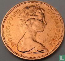 Verenigd Koninkrijk 2 new pence 1973 (PROOF)