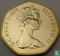 Verenigd Koninkrijk 50 new pence 1975 (PROOF)