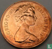 Verenigd Koninkrijk 2 new pence 1974 (PROOF)