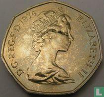 Verenigd Koninkrijk 50 new pence 1974 (PROOF)