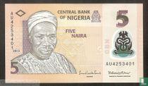 Nigeria 5 Naira 2013