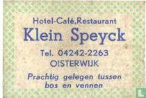 HCR Klein Speyck